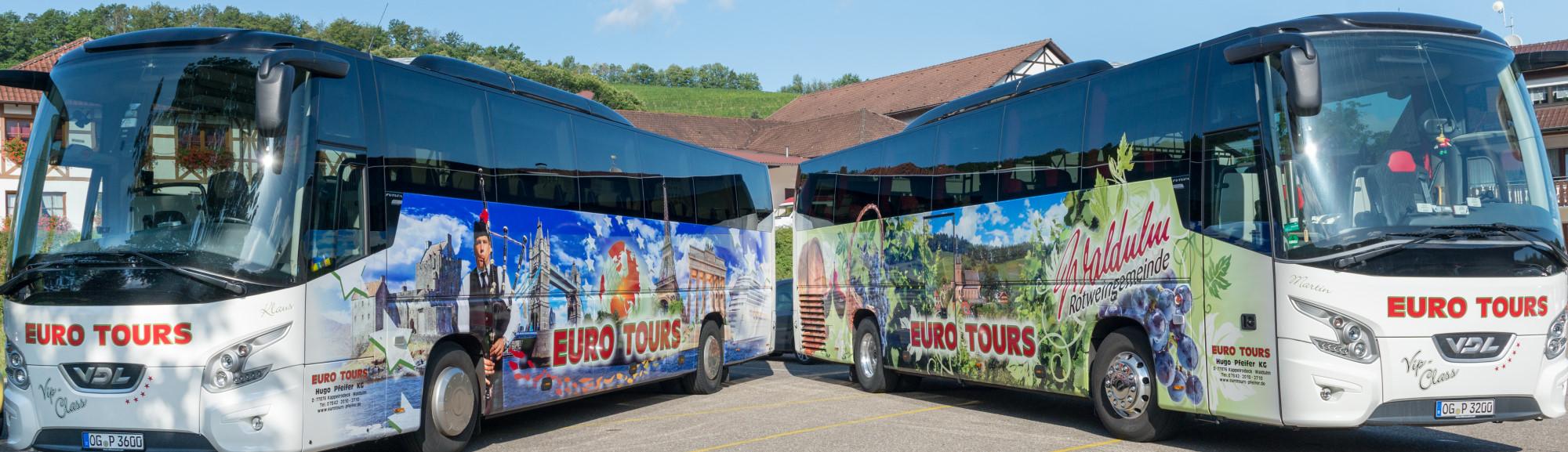 Modernste Reisebusse